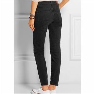 Madewell high rise black jeans